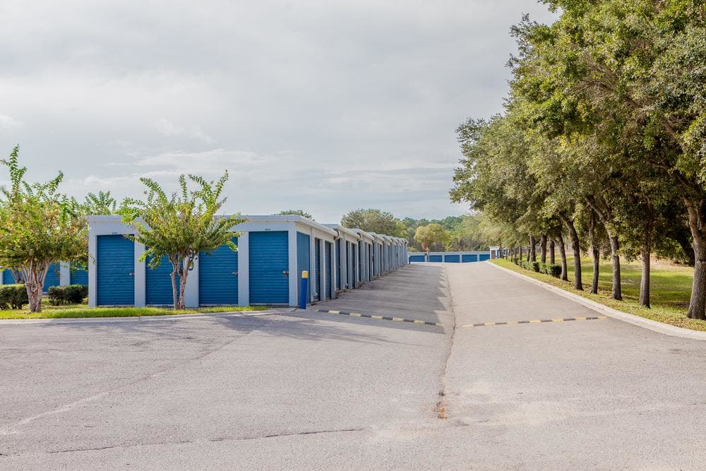 comfortable outside space at Atlantic Self Storage