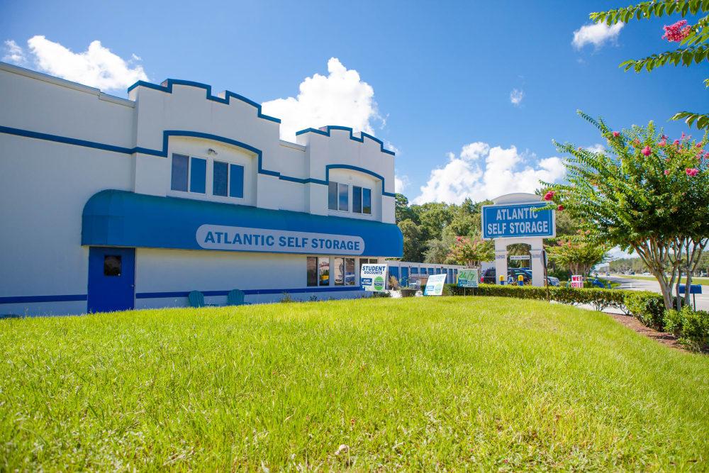Atlantic Self Storage sign