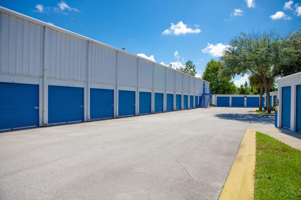 Ground-floor units at Atlantic Self Storage