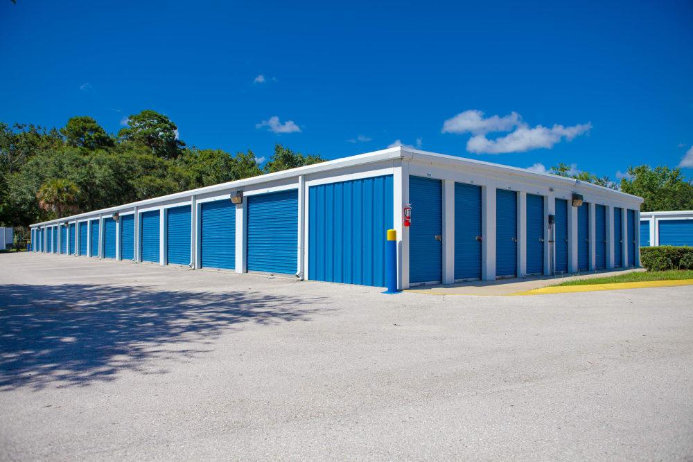 Large driveways at Atlantic Self Storage