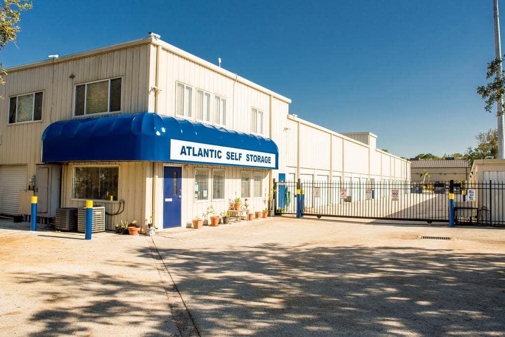 Front entrance at Atlantic Self Storage