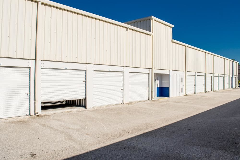 We offer exterior units with roll-up doors at Atlantic Self Storage
