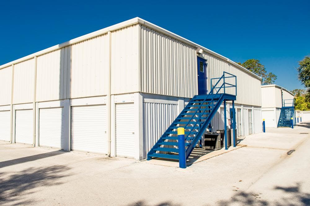 Easy access to your unit at Atlantic Self Storage