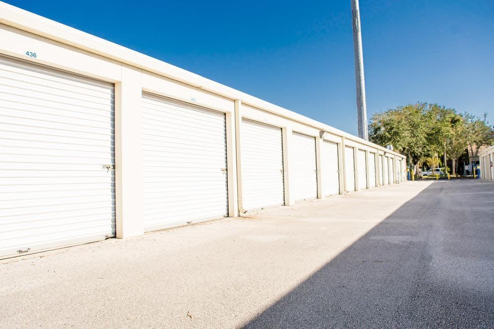 Large storage units offered at Atlantic Self Storage