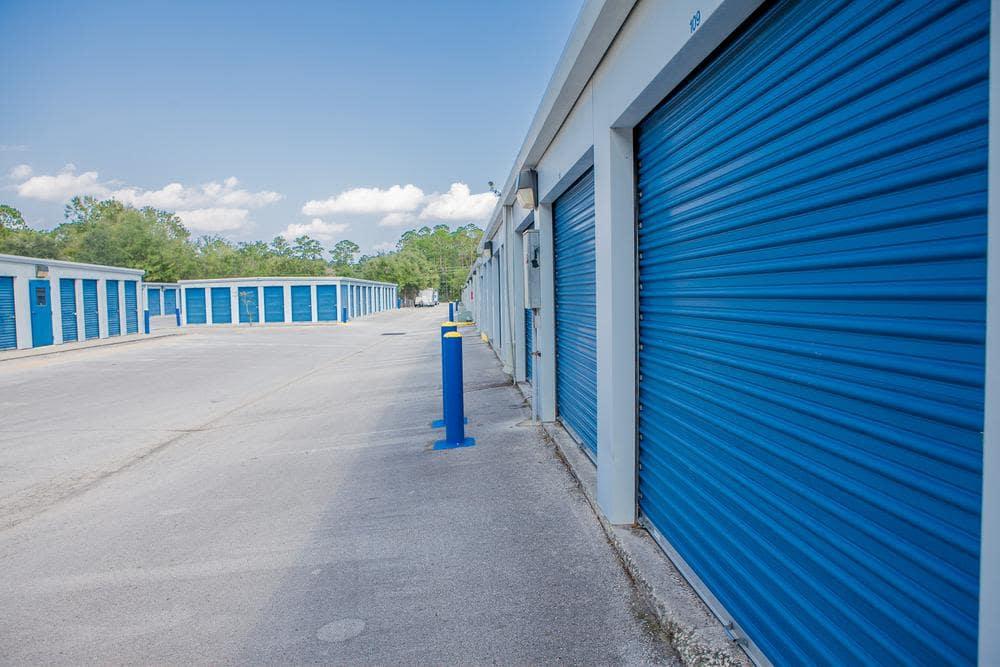 We offer exterior storage units at Atlantic Self Storage