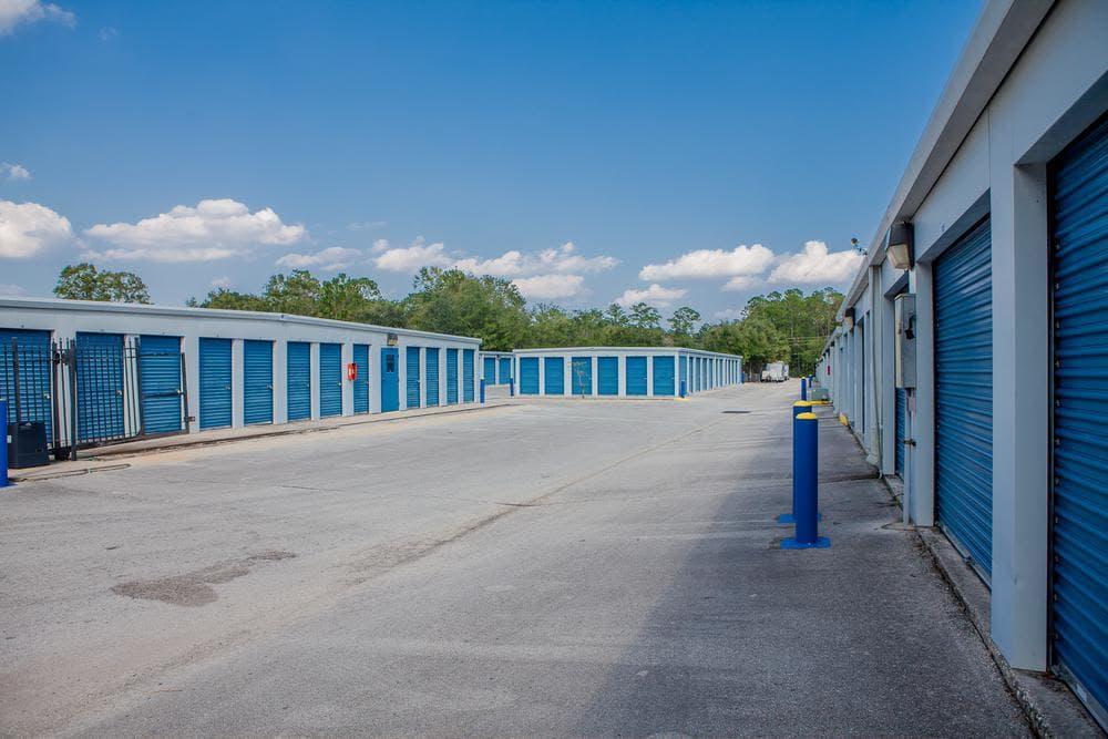 We offer exterior units at Atlantic Self Storage