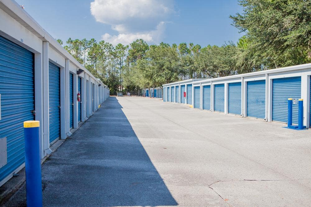 We offer exterior units at Atlantic Self Storage