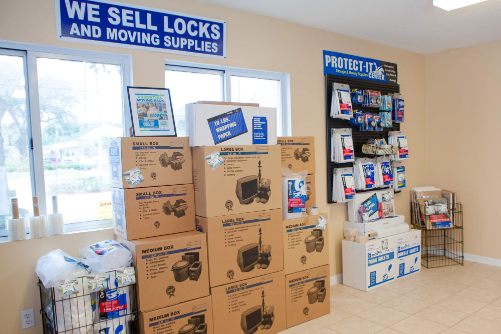 Packing and moving supplies at Atlantic Self Storage