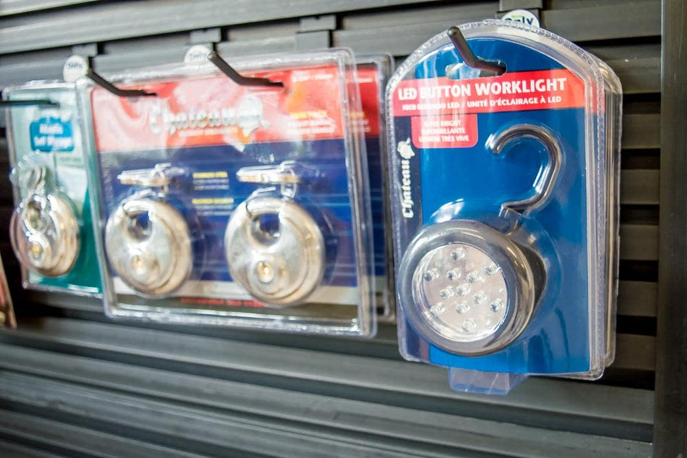 We offer locks at Atlantic Self Storage