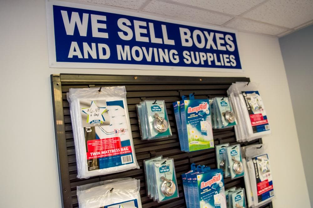 We offer boxes and moving supplies at Atlantic Self Storage, in St. Augustine