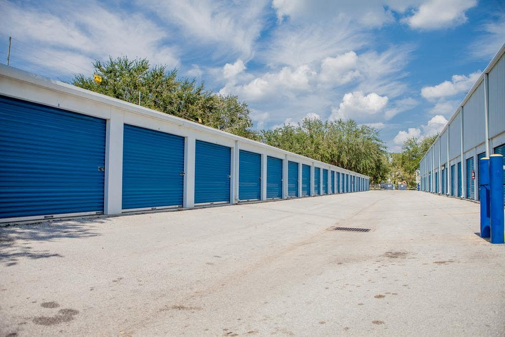Spacious units at Atlantic Self Storage, in Jacksonville