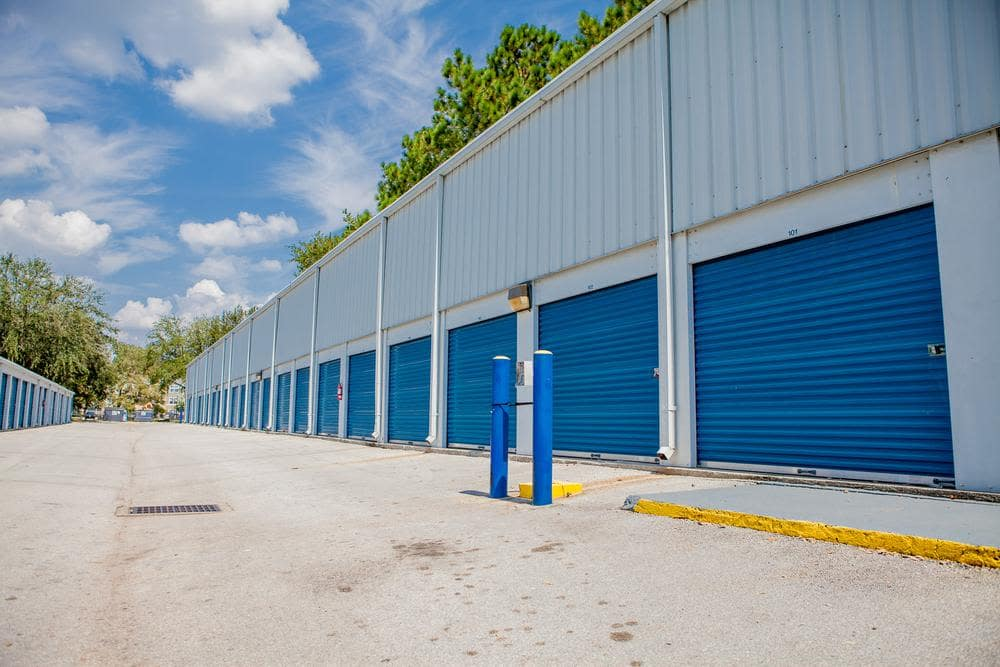 We offer exterior storage units at Atlantic Self Storage