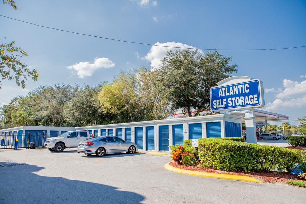 Parking space at Atlantic Self Storage