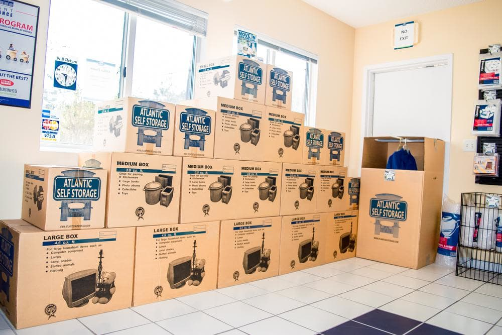 Exceptionnel We Offer Boxes And Moving Supplies At Atlantic Self Storage