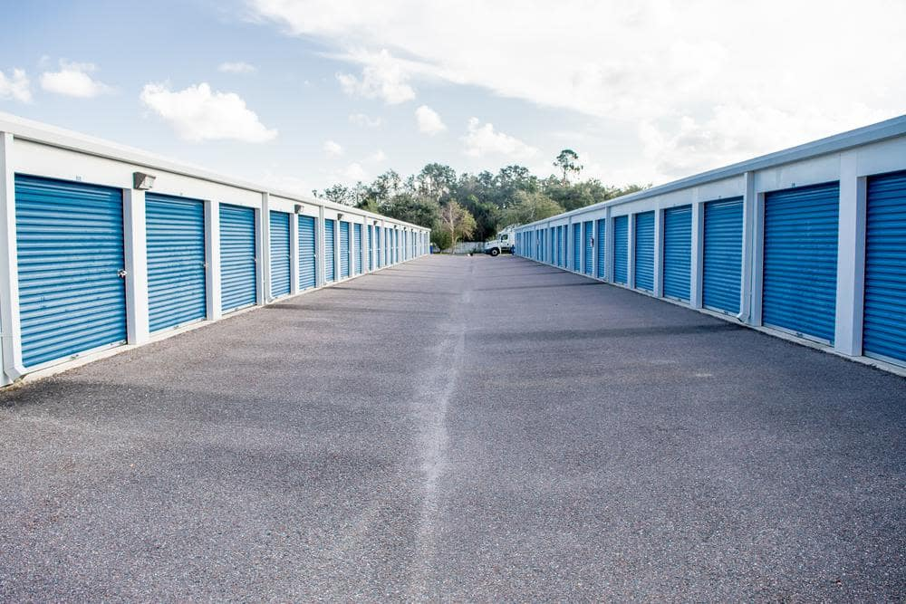 Spacious storage units at Atlantic Self Storage