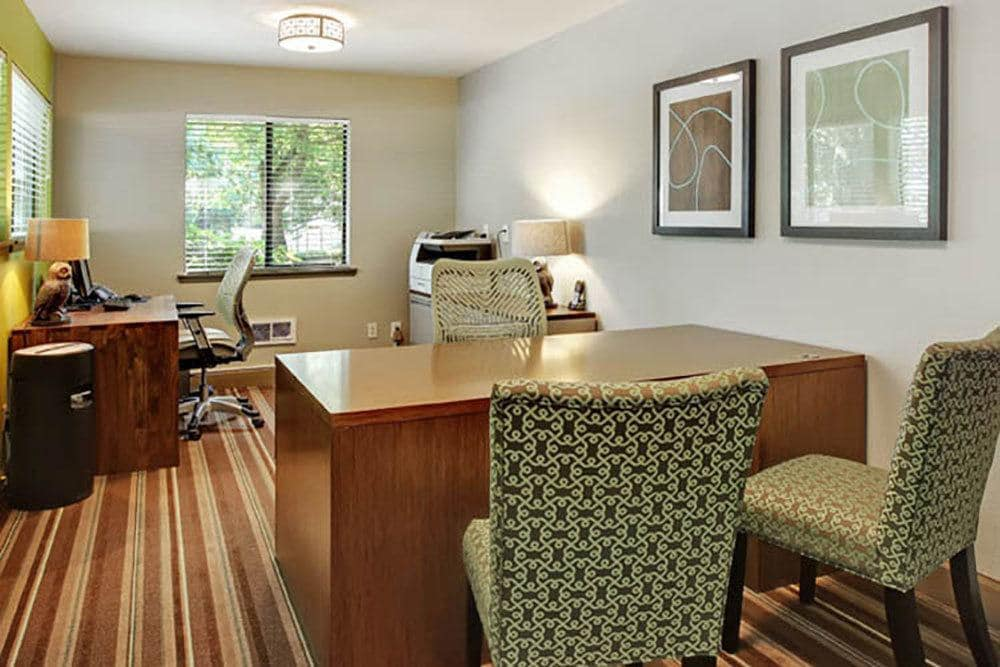 Office area at Willow Grove Apartment Homes in Beaverton, OR