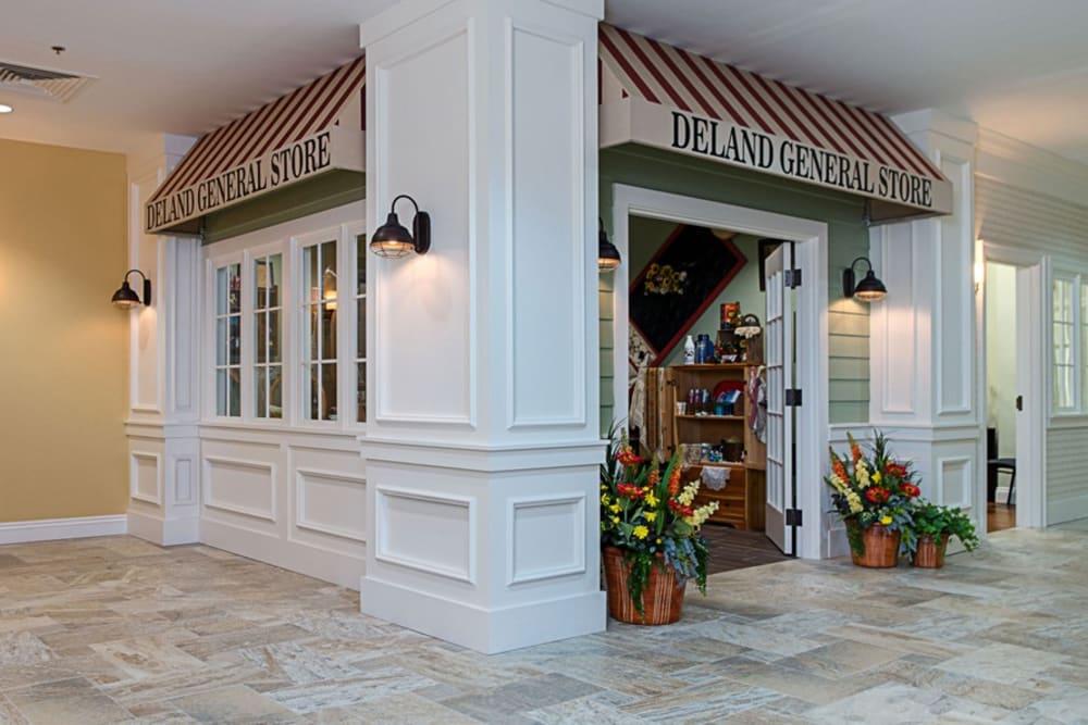 Front entrance at Grand Villa of DeLand in Florida