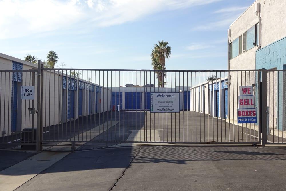 Security Gate at Storage Etc... Pomona