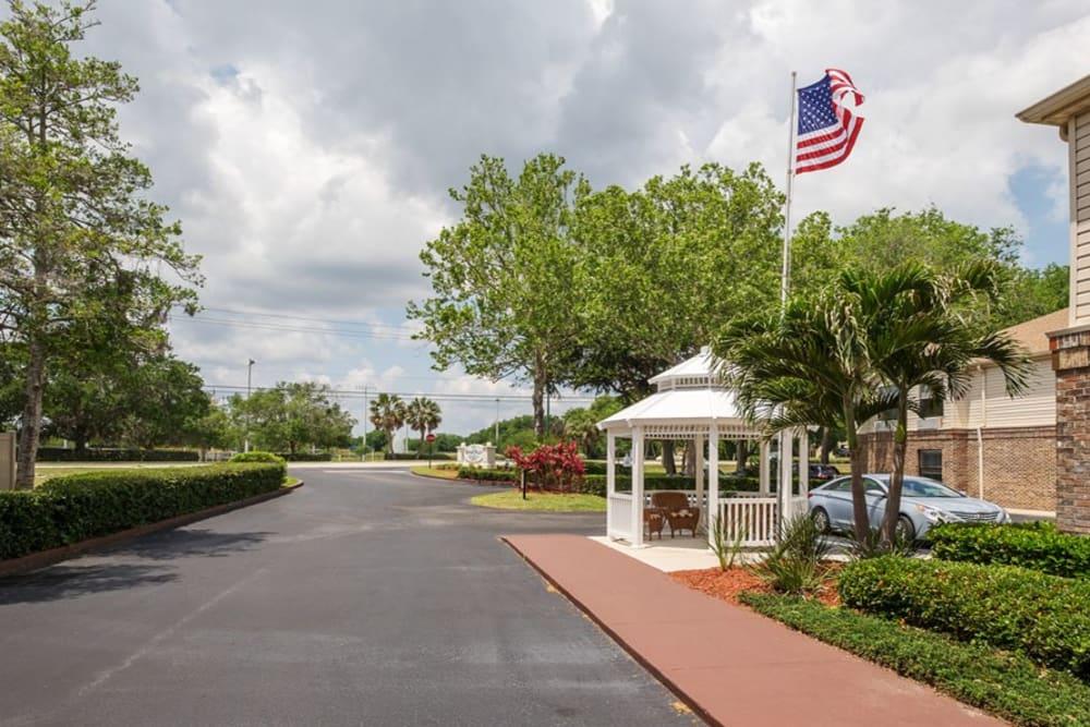 Entryway at Grand Villa of Ormond Beach in Florida