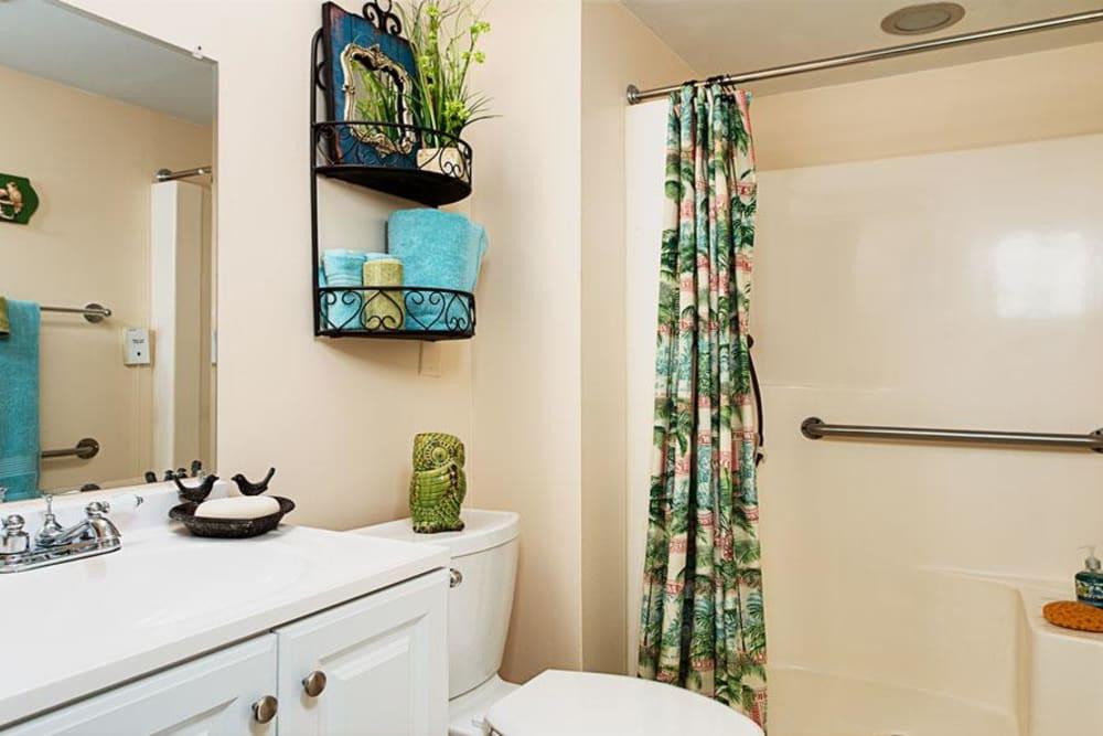 Bathroom model at Grand Villa of Ormond Beach in Florida