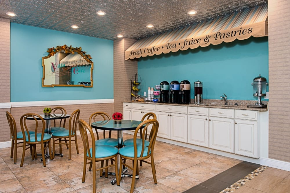 Cafe at Grand Villa of Delray East in Florida