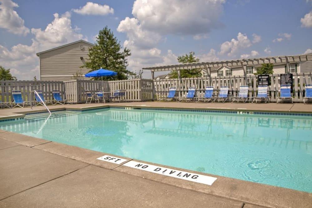 A large swimming pool at Cedar Ridge in La Vergne, Tennessee