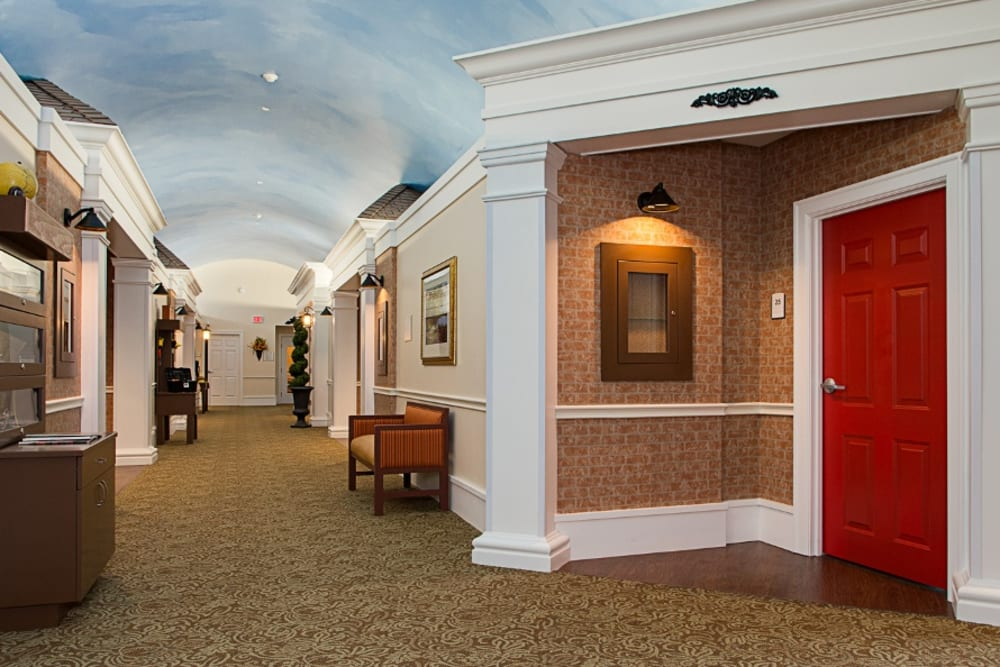 Entryway at Grand Villa of Melbourne in Florida