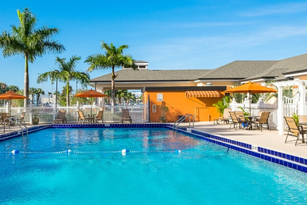 Swimming pool at Grand Villa of Melbourne in Florida