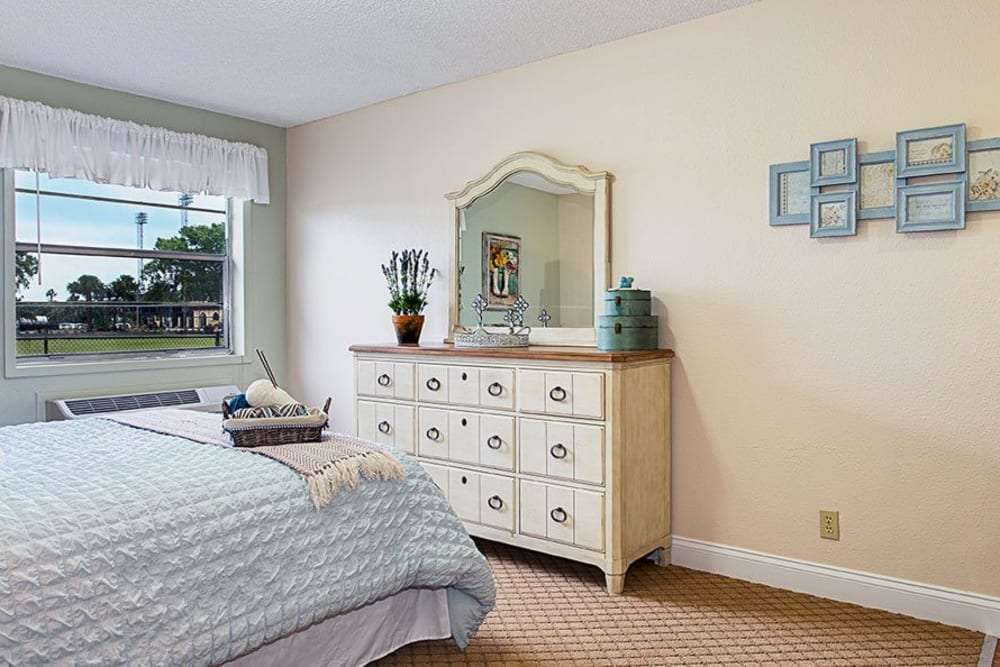 Bedroom layout at Grand Villa of Lakeland in Florida