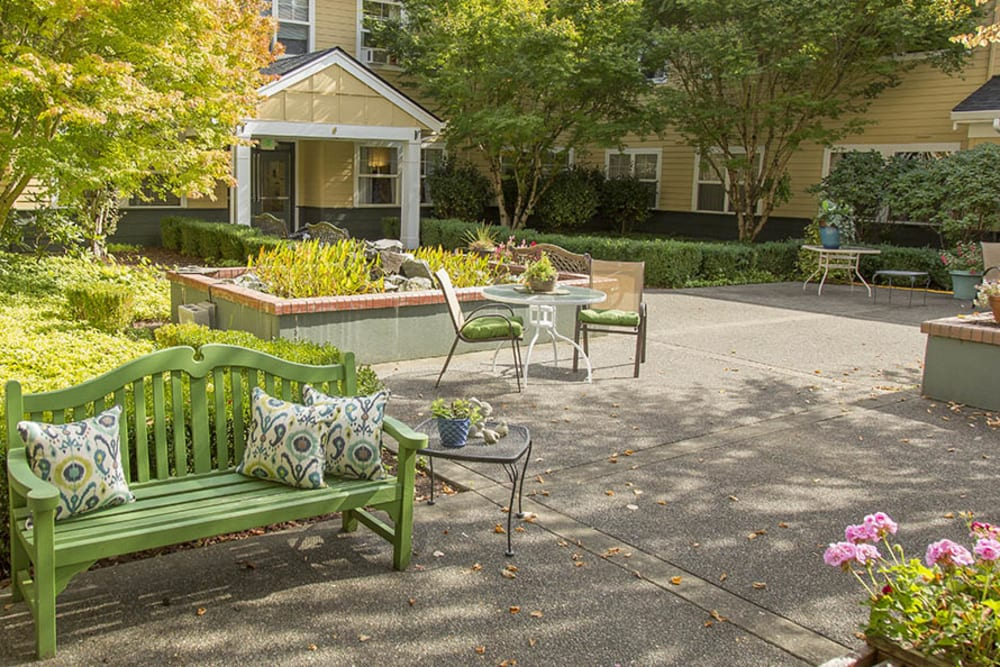 Courtyard at The Sequoia Assisted Living Community