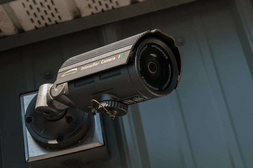 Security cameras at Reliable Storage in Silverdale, Washington