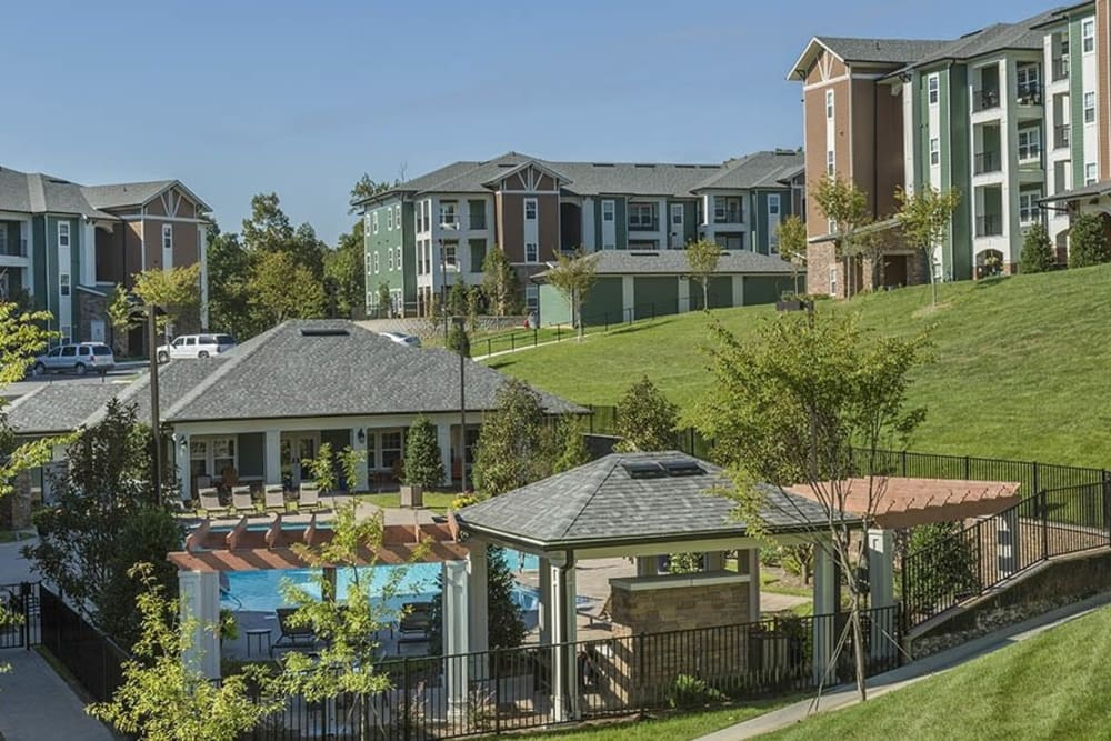 Property overview at Integra Hills Preserve Apartments in Ooltewah, TN