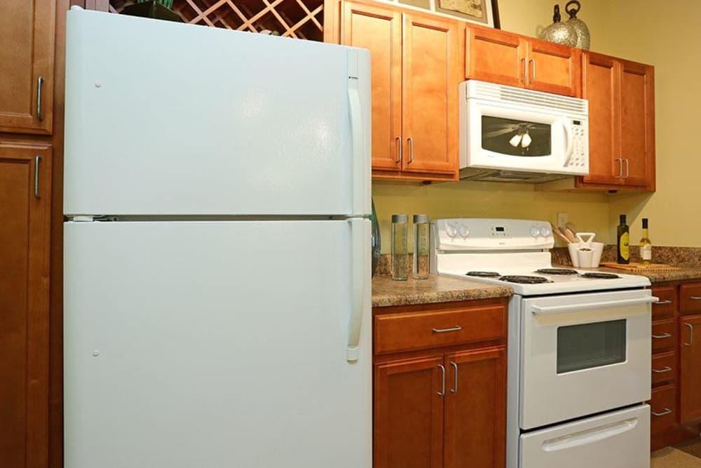 Appliances at Huntsville Parc Apartment Homes in Huntsville, AL
