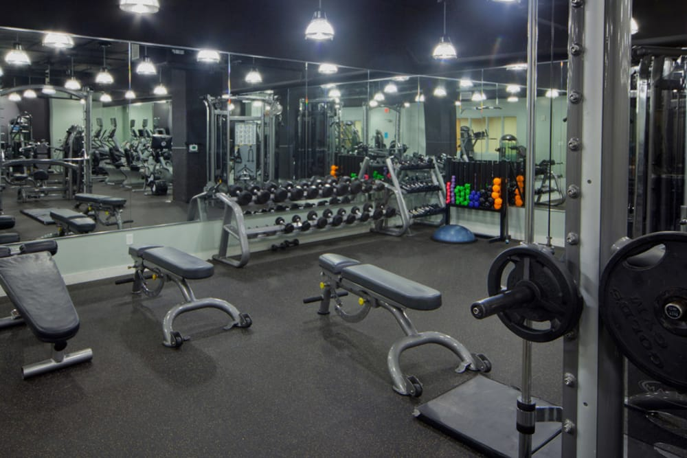 55 West Apartments Fitness Center