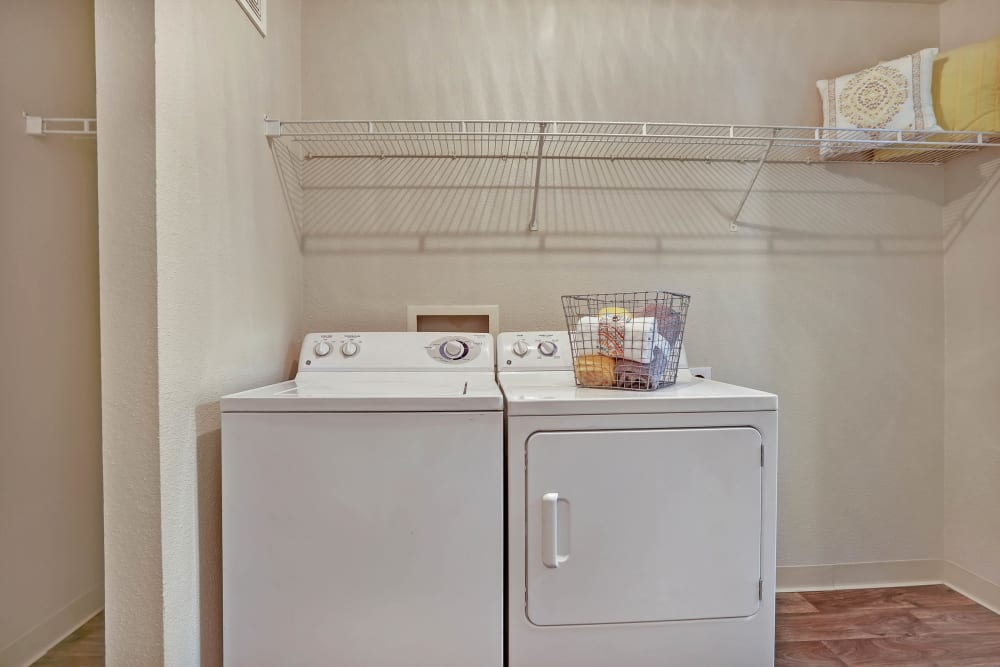 The Pines at Castle Rock Apartments offers a Washer/Dryer in Castle Rock, Colorado