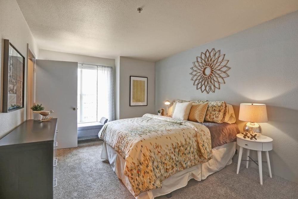 Bedroom at The Pines at Castle Rock Apartments in Castle Rock, Colorado