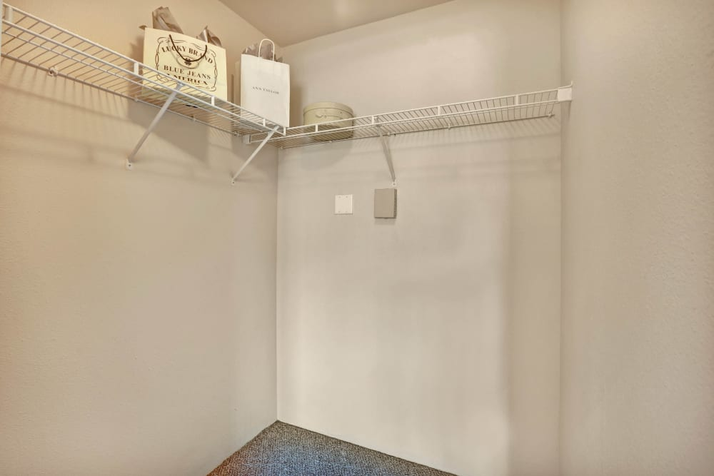 The Pines at Castle Rock Apartments offers Walk-in Closets in Castle Rock, Colorado