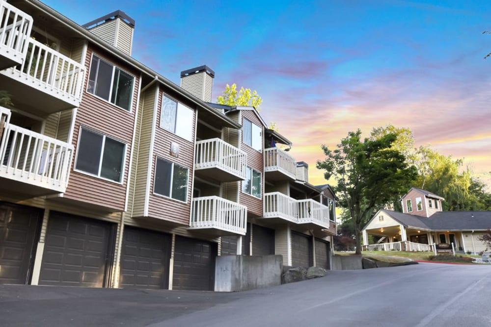 Exterior of Apartments in Mountlake Terrace, Washington