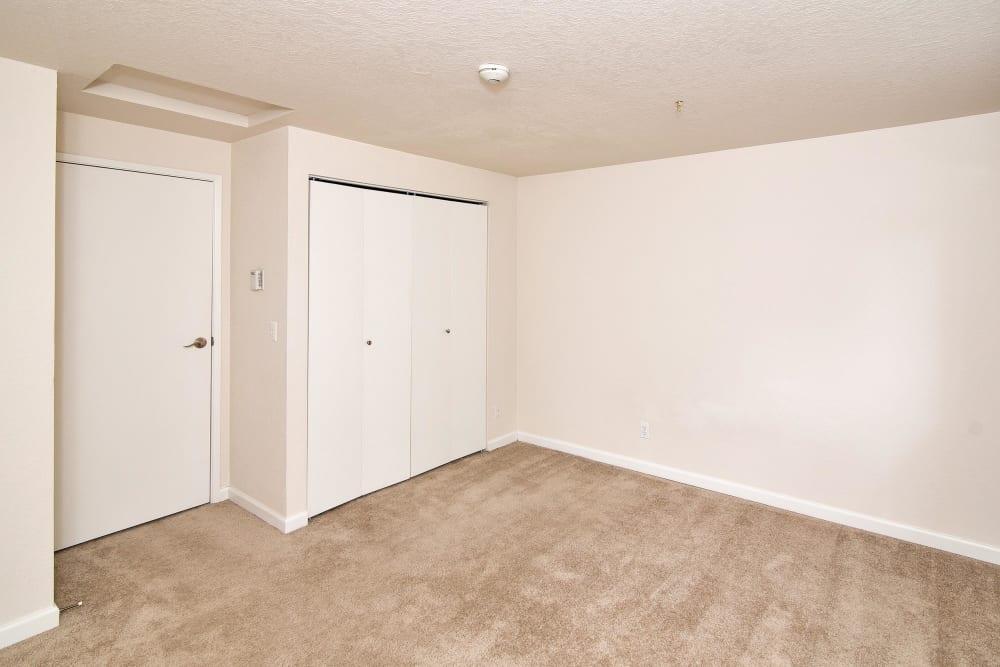Bedroom at Maple Glen Apartments in Mountlake Terrace, Washington