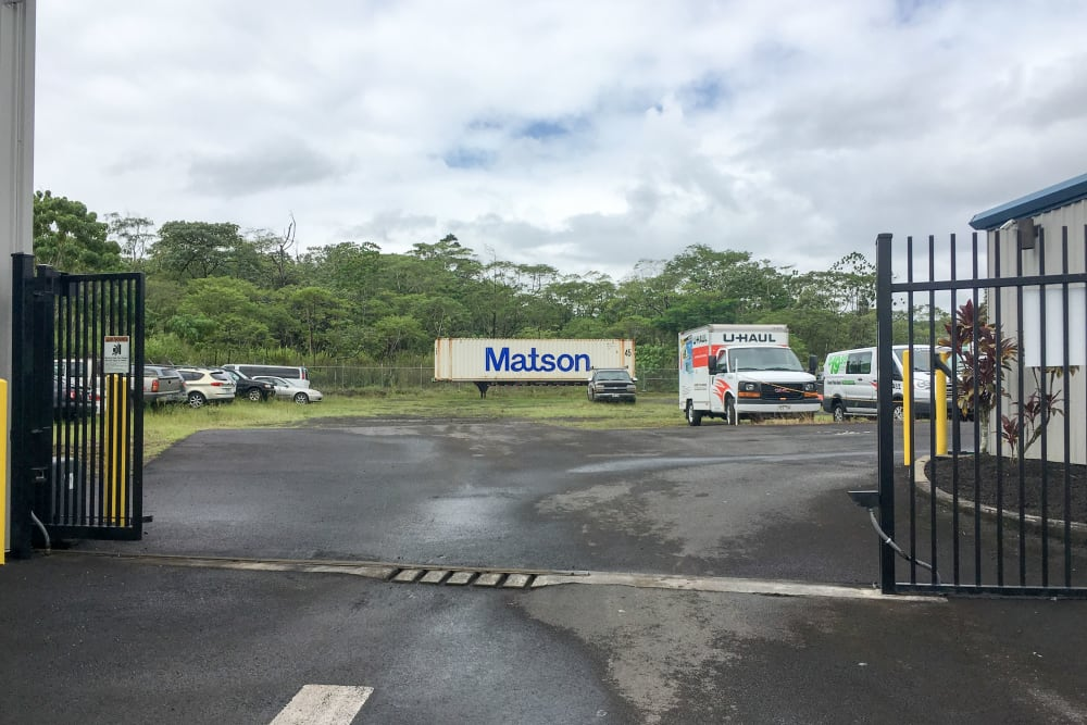 Outdoor Parking Storage in Kea'au