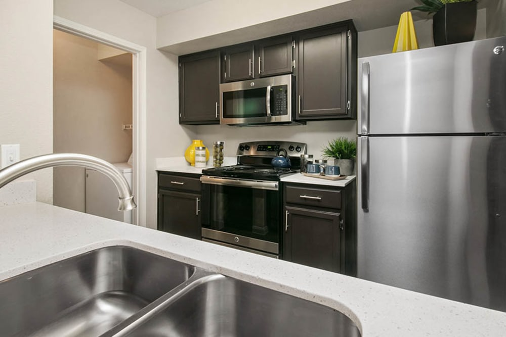 Kitchen at Apartments in Las Vegas, Nevada