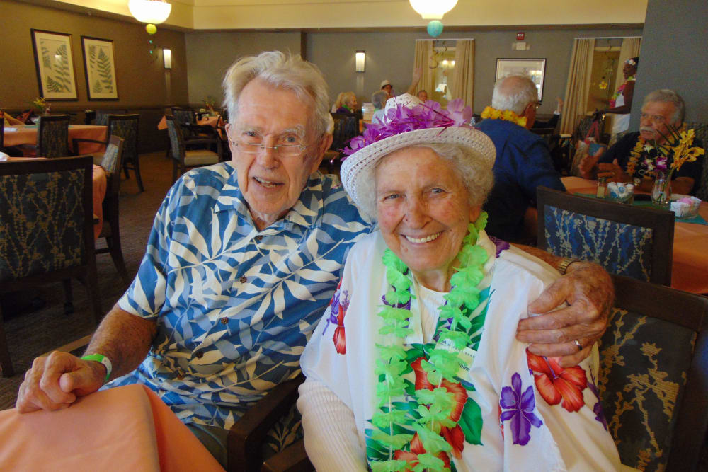 Luau Party at our community in Oceanside, CA
