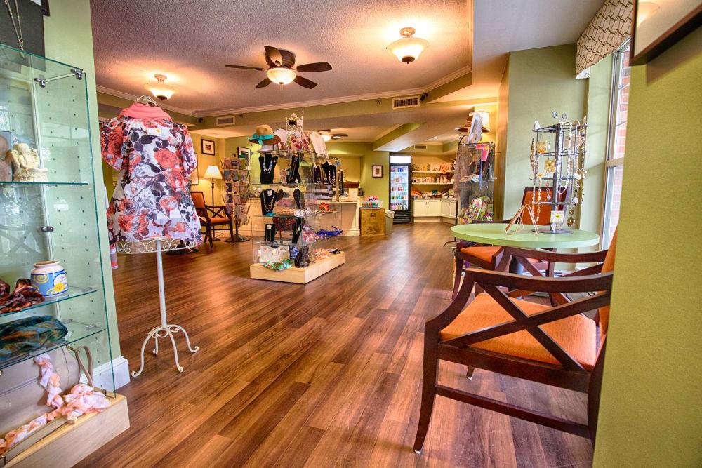Gift shop at Someren Glen in CO