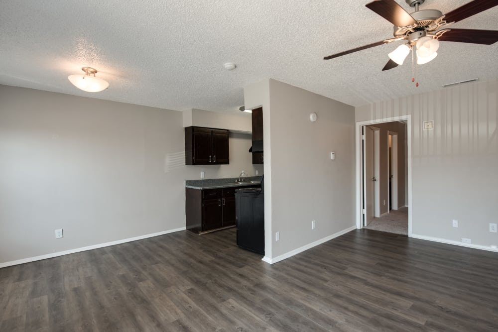 Spacious floor plans at Stone Ridge Apartments