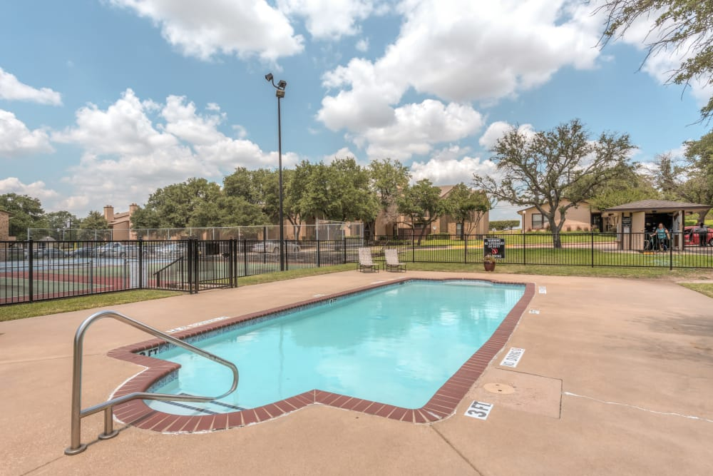 Luxurious Pool at The Corners Apartments