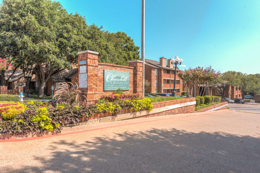 Apartments in Mesquite, TX at Churchill Crossing Apartments