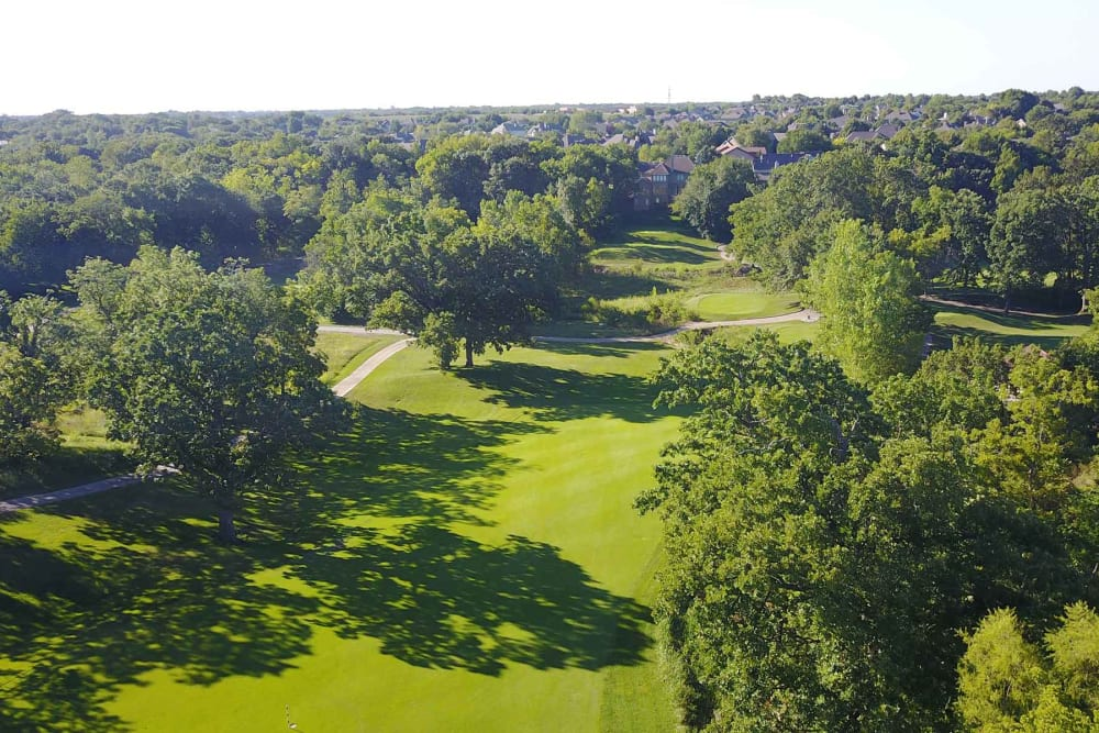 Golf greens  The Fairways of Ironhorse in Leawood