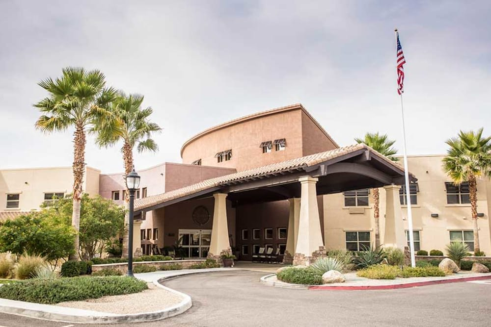 Solana at The Park is ideally located in Surprise, Arizona