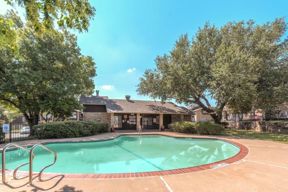 Swimming pool at Meadow Ridge Apartments