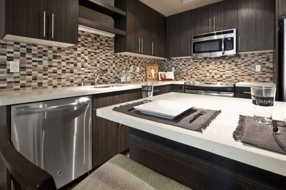 High End Finishes at The Century in Seattle, Washington
